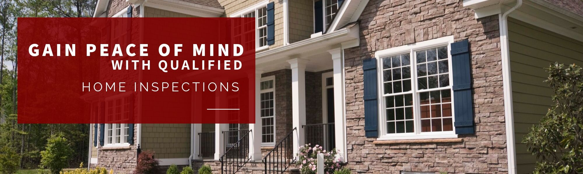Get peace of mind with home inspections
